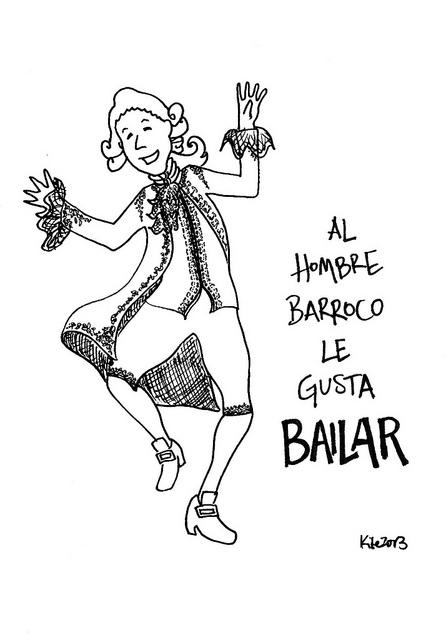 Al hombre barroco le gusta bailar