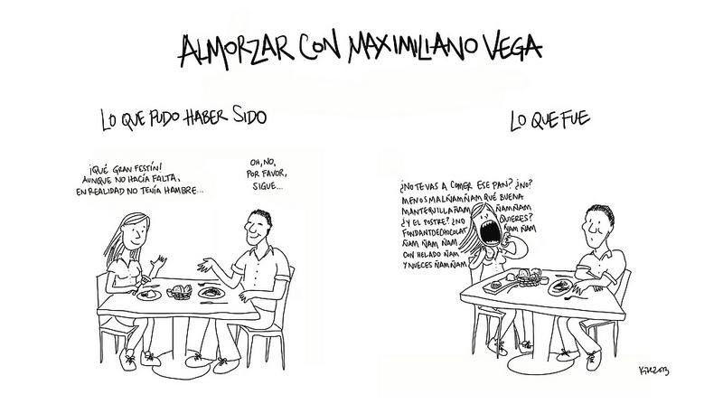 Almorzar con Maximiliano Vega