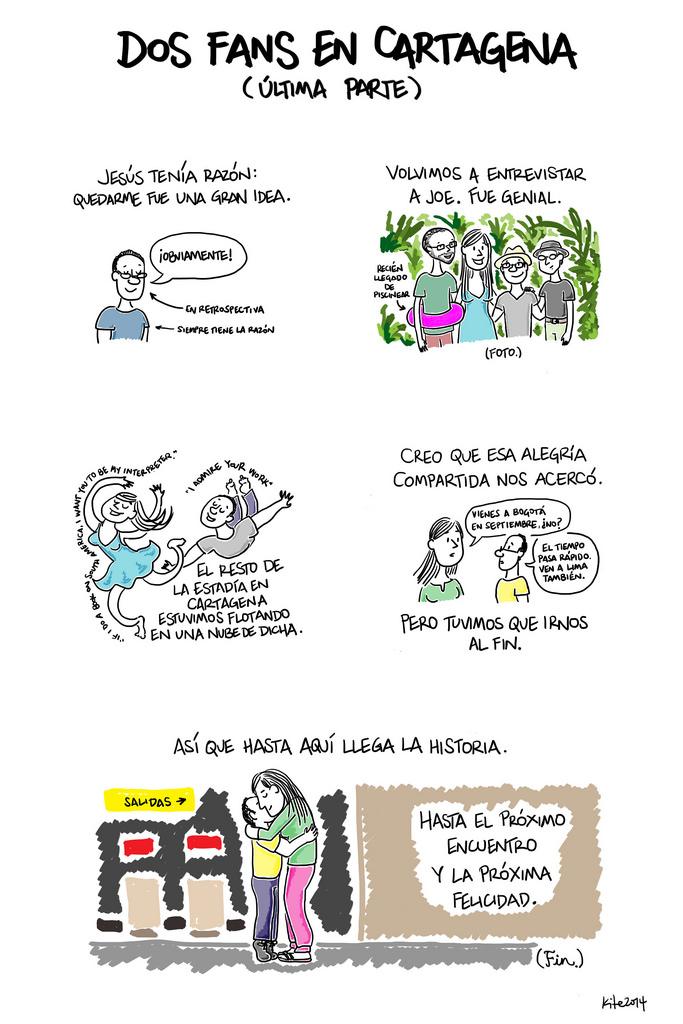 Dos fans en Cartagena (última parte)